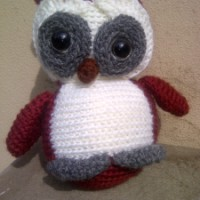 Finished Objects Friday - Leigh's Owl