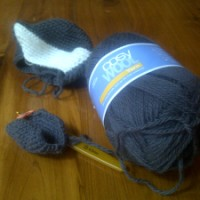 WIP Wednesday - Nick's Wolf and My Noro Socks