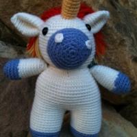 Finished Objects Friday - Tanesha's Unicorn